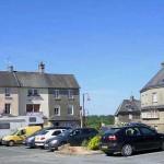 Cerisy-la-Salle, la route de Saint-Lô