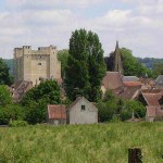 Chambois, la ville et son donjon médiéval
