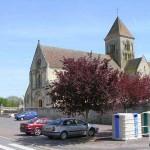 Cheux, l'église