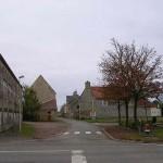 Cintheaux, le carrefour central