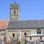 Colleville-Montgomery, l'église Saint-Vigor du XIe siècle