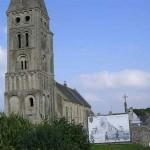 Colleville-sur-Mer, l'église
