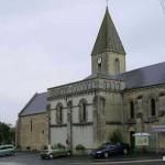 Colombières, l'église