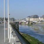Courseulles-sur-Mer, l'embouchure de la Seulles