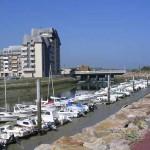 Courseulles-sur-Mer, le port de plaisance