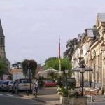Creully, le centre ville