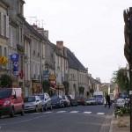 Creully, la rue principale