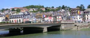 Deauville, ville lettrine