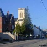 Dozulé, la route de Caen