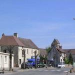 Fontenay-le-Marmion, la rue principale