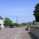 Fontenay-le-Pesnel, la rue principale