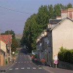Jort, la rue principale