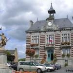 La Haye-Pesnel, l'hôtel de ville