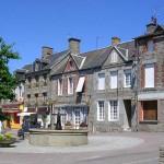Le Bény-Bocage, la place du marché