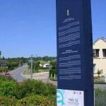 Le Plessis-Grimoult, la route du Mont Pinçon
