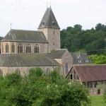 Lonlay-l'Abbaye, l'abbatiale du XIe siècle