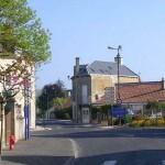 Luc-sur-Mer, la place du général Leclerc