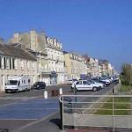 Luc-sur-Mer, la rue du docteur Charcot