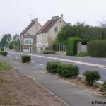 Marcelet, la route de Caen