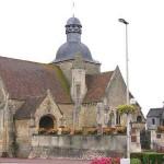 Mézidon-Canon, l'église Saint-Pierre du Breuil du XIIe siècle