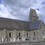 Négreville, l'église