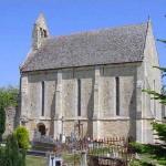 Périers-sur-le-Dan, l'église Saint-Ouen