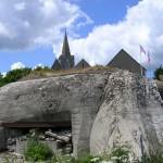 Quinéville, un blockhaus de la position fortifiée