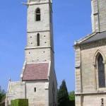 Ranville, le clocher de l'ancienne église du XIIe siècle