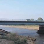 Ranville, le pont sur l'Orne