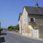 Saint-Aignan-de-Cramesnil, la rue principale