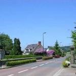 Saint-Charles-de-Percy, la route du Bény-Bocage
