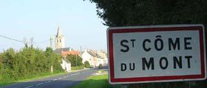 Saint-Côme-du-Mont, ville lettrine