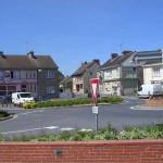 Saint-Fromond, le carrefour principal