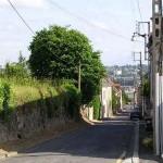 Saint-Georges-Montcoq, vue sur Saint-Lô