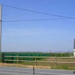 Saint-Martin-de-Fontenay, la plaine de Caen vue de Troteval