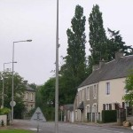 Saint-Pierre, la route de Caen