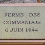 Amfreville, plaque des Commandos