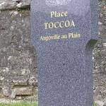 Angoville-au-Plain, stèle Toccoa
