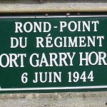 Anguerny, monument Fort Garry Horse