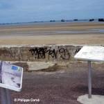 Asnelles, panneaux Gold Beach
