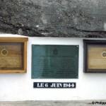 Asnelles, plaque 147th Field Regiment RA
