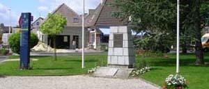 Authie, monument lettrine