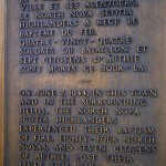 Authie, monument North Nova Scotia Highlander