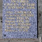 Authie, plaque victimes civiles