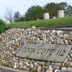 Baron-sur-Odon, plaque cote 112