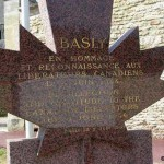 Basly, monument canadien