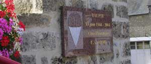 Baupte, monument lettrine
