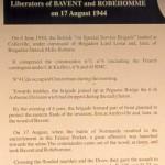 Bavent, monument 1st Special Service Brigade