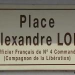 Bavent, plaque Alexandre Lofi