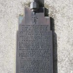 Bayeux, plaque 50th Northumbrian Infantry Division